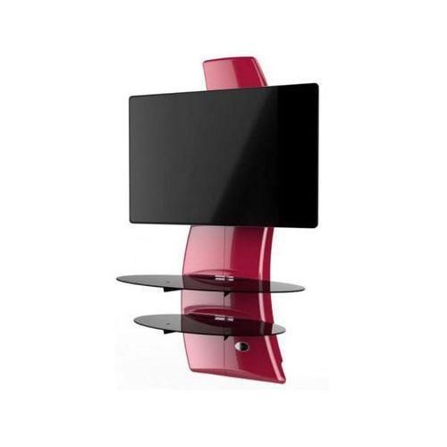 Półka pod tv z maskownicą ghost design 2000 czerwona marki Meliconi s.p.a.