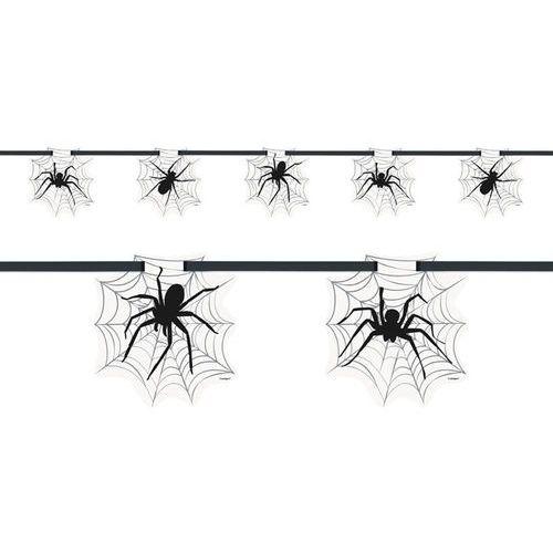Baner Pajęczyna z pająkiem - 213 cm - 1 szt.