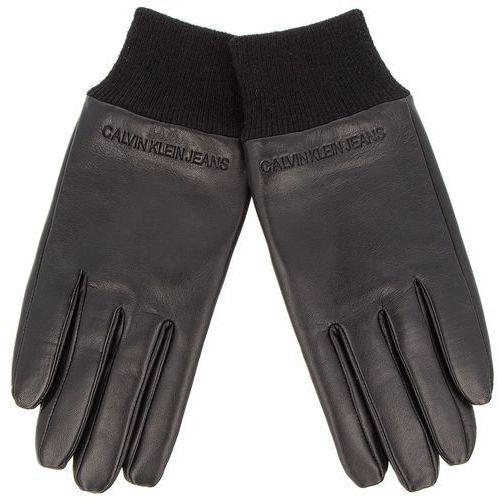 Calvin klein jeans Rękawiczki męskie - j cuff leather glove k50k504185 016
