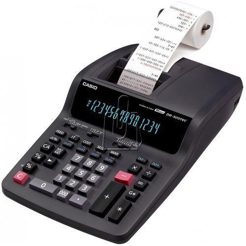 Casio Kalkulator  kalkulator biurowy z drukarką dr-320tec szybka dostawa! darmowy odbiór w 19 miastach! (4971850178446)