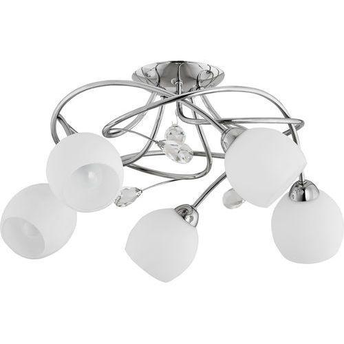 Lampa wisząca Alfa Sisi 21315 5x40W E14 chrom/biała, 21315