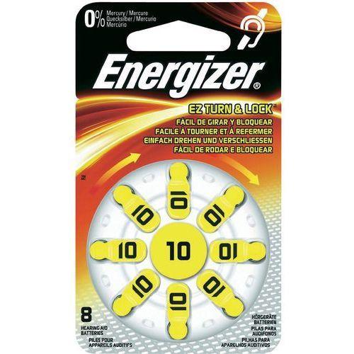 Energizer Bateria baterie do aparatów słuchowych 10 8 szt