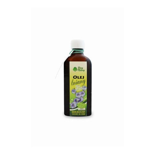 Olej lniany bio 100 ml - dary natury marki Dary natury - inne bio