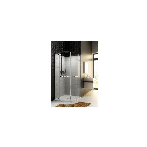 Aquaform Aquaform hd collection kabina prysznicowa półokrągła 100 cm z szybami ze szkła bezpiecznego 100-09371 100 x 100 (100-09371)