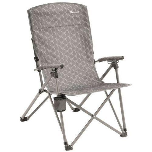 Outwell krzesło składane harber hills, srebrne, 60x85x108 cm (5709388078810)