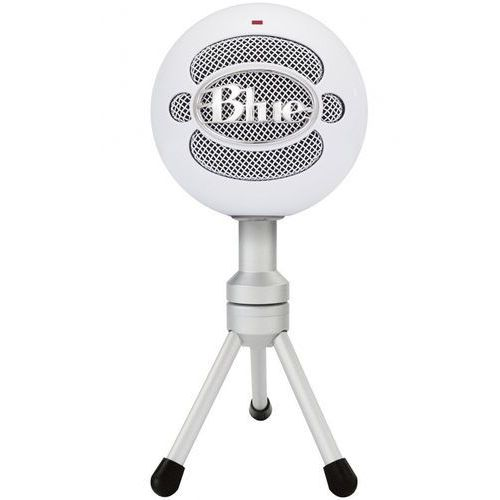 Blue Microphones Snowball iCE mikrofon pojemnościowy USB, certyfikat Skype (mikrofon)