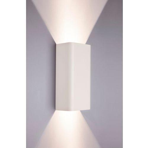 Kinkiet Nowodvorski Bergen White 2x35W GU10 biały w kształcie kokardki do sypialni 9706 (5903139970693)