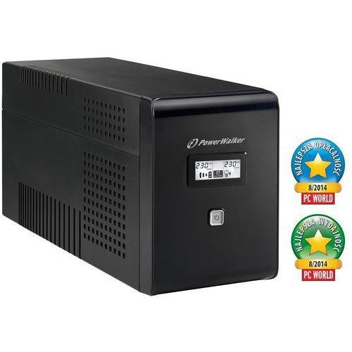 Zasilacz POWERWALKER UPS VI 1500 LCD Line-interactive 1500VA + DARMOWY TRANSPORT! (4260074975024)