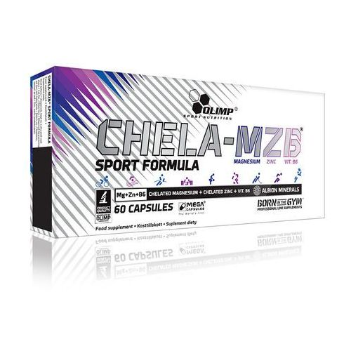 Magnez - Chela-MZB Sport Formuła Mega Caps 60 kaps Olimp (5901330004209)