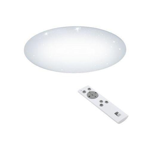 Plafon giron-s 97542 lampa sufitowa oprawa 1x60w led biały marki Eglo