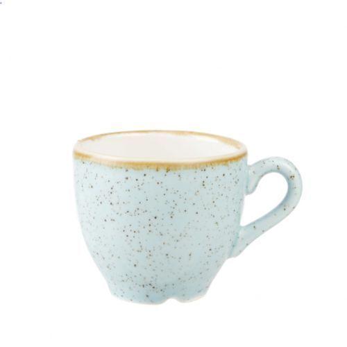 Filiżanka espresso 0,1 l, niebieska | , stonecast duck egg blue marki Churchill