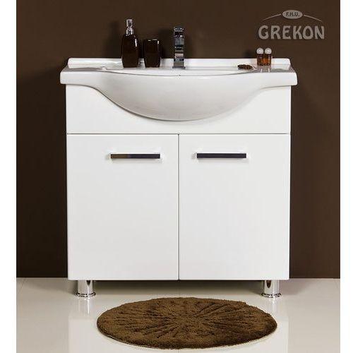 Szafka łazienkowa z umywalką 80 cm tango biała marki Gante