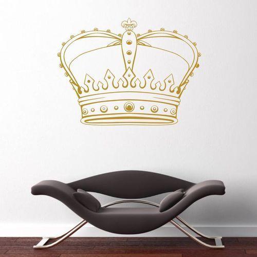 Naklejka ścienna korona 2062 marki Wally - piękno dekoracji