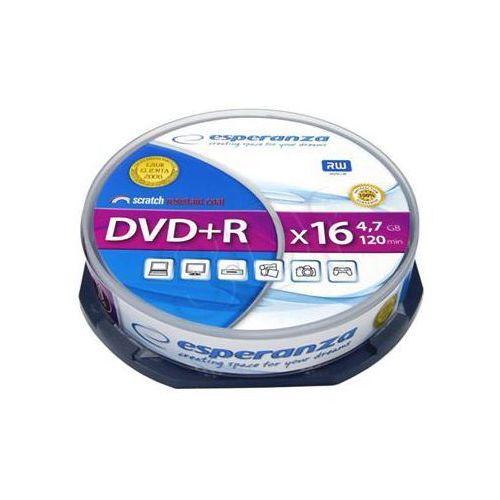 Esperanza Płyty dvd+r 4.7gb 16x - cake - 10szt.
