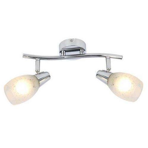 Listwa lampa sufitowa plafon Reality Crissy 2x40W E14 chrom 815802-06