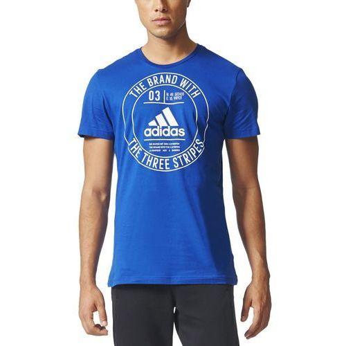 Adidas Koszulka t-shirt ess adidas badge regular cd9114