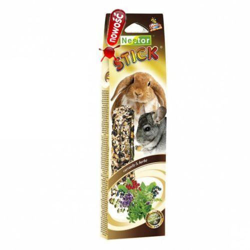 kolba dla gryzoni i królików smaki świata z ziołami i porzeczkami, 2szt. wyprodukowany przez Nestor
