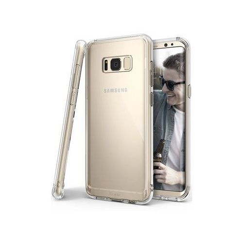 Etui Ringke Fusion Samsung Galaxy S8 Clear View + Szkło T-Max UV