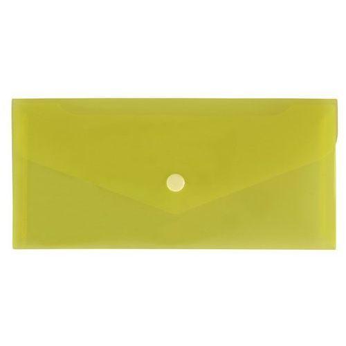 Teczka koperta dl satyna żółta TKS-03-04 (5907214872063)