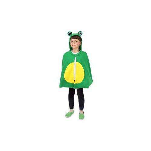 Twojestroje.pl Peleryna żabka zielona 70cm (5902973112825)