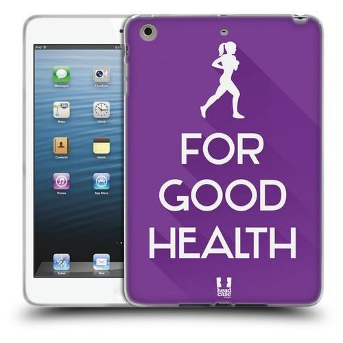 Head case Etui silikonowe na tablet - workout inspirations violet run