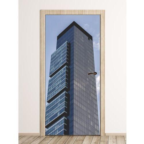 Fototapeta na drzwi architektura manhattanu fp 6062 marki Wally - piękno dekoracji