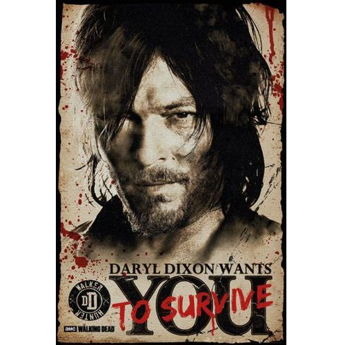 Gb The walking dead daryl needs you - plakat