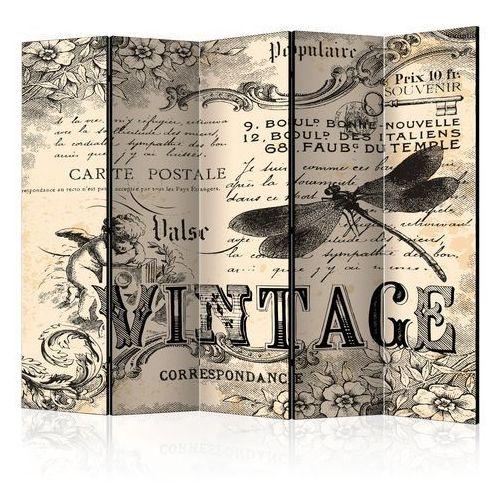 Parawan 5-częściowy - vintage correspondence ii [parawan] marki Artgeist