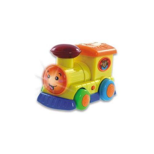 pojazdy sterowane lokomotywaz kierownicą marki Smily