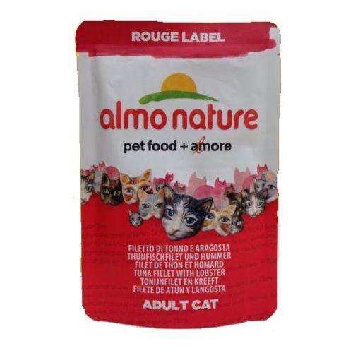 rouge label tuńczyk z langustą - saszetka 6x55g marki Almo nature