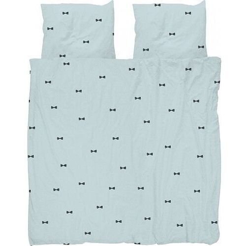 Snurk Pościel bow tie niebieska podwójna 200 x 200 cm