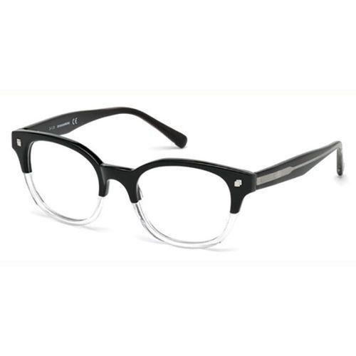 Okulary korekcyjne  dq5180 oxford 003 marki Dsquared2