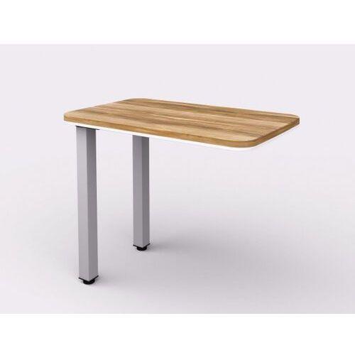 Dostawka do biurka - prawa, 900 x 550 x 762 mm marki Lenza