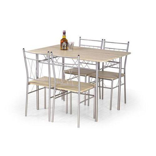 Zestaw  faust stół + 4 krzesła marki Halmar