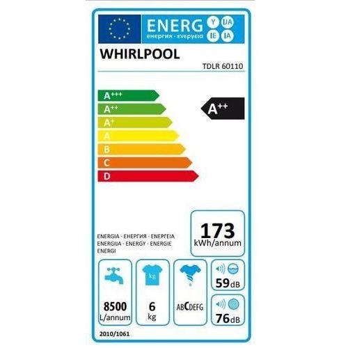 Whirlpool TDLR 60110