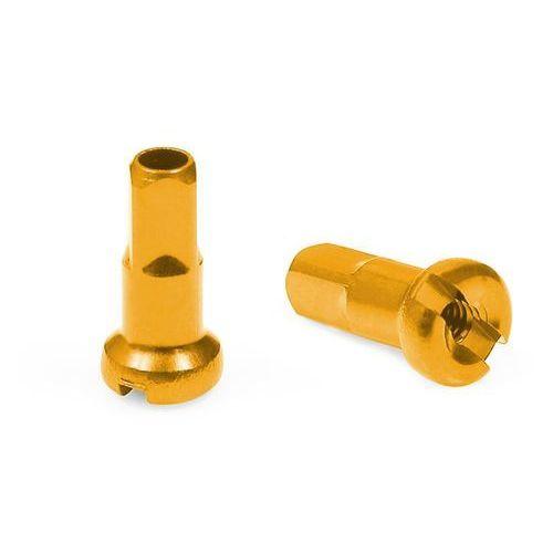 Cnspoke Nypel an12 12 mm aluminiowy złoty (5907558600872)