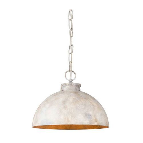 Lampa wiszaca magna 35 klasyczna szarobrazowa z lancuchem marki Qazqa