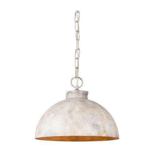 Przemysłowa lampa wisząca szarobrązowa 35cm - magna classic marki Qazqa