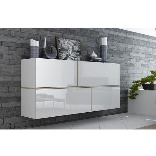 High glossy furniture Modern biała komoda wysoki połysk