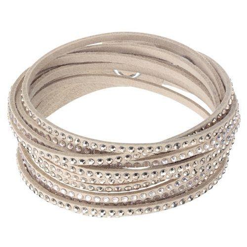 Swarovski Slake Silk Bracelet Light Multi Gold-plated (9009650434952)