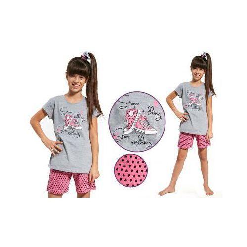 Piżama dziecięca MIA: szary/róż, kolor szary