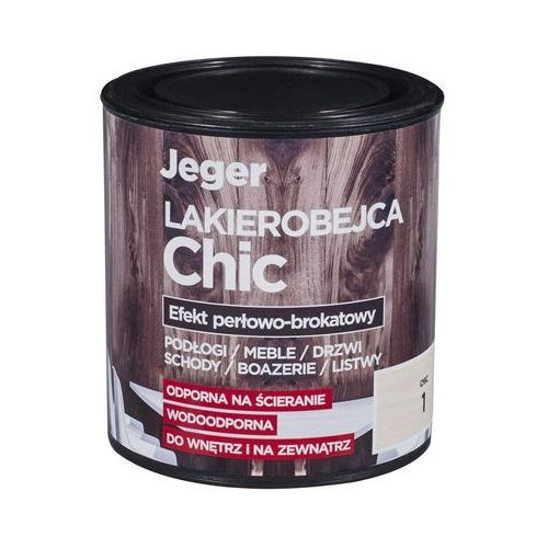 Lakierobejca chic 0.5 l kolor 3 efekt perłowo-brokatowy marki Jeger