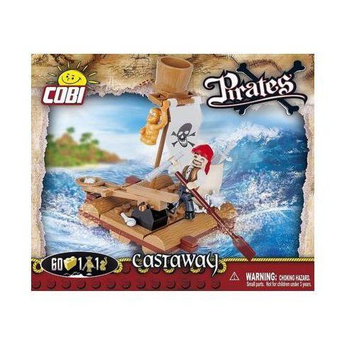 Piraci 60 ELEMENTÓW Rozbitek - Cobi Klocki