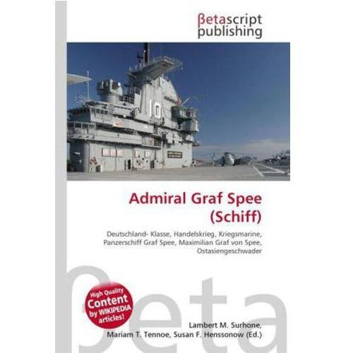 Admiral Graf Spee (Schiff) (9786131314612)