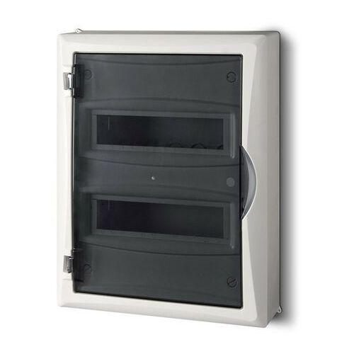 Rozdzielnica 2x12(24) natynkowa IP40 2505-01 Economic-Box Elektro-Plast (5902431690186)