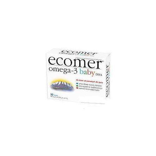 Krotex poland Ecomer omega-3 baby dha x 30 kapsułek twist-off