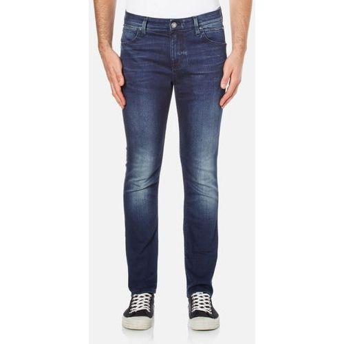 Calvin klein  men's body slim fit 6 pocket jeans - blue fountain - w32/l32