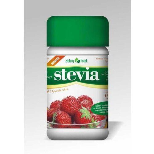 Stevia stewia naturalny słodzik w pudrze puder 150g - zielony listek marki Zielony listek domos