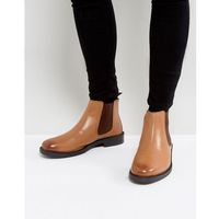 chelsea boots in tan leather - tan marki Silver street