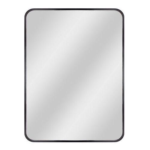 Dubiel vitrum Lustro prostokątne nico 60 x 80 cm w ramie czarne (5905241007847)